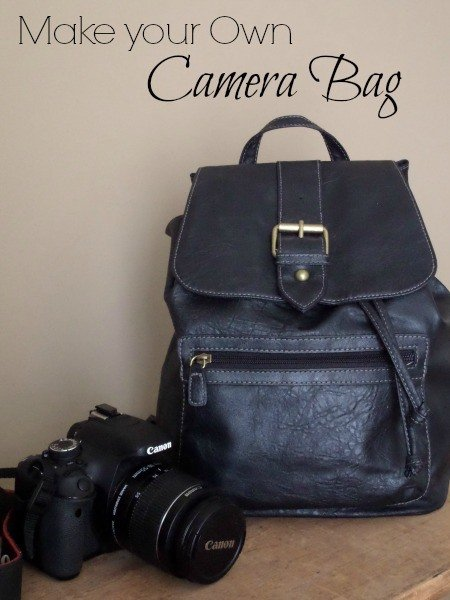 Make your own camera bag