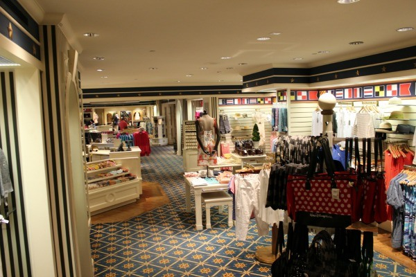 Shopping at the Disney Beach Club Resort