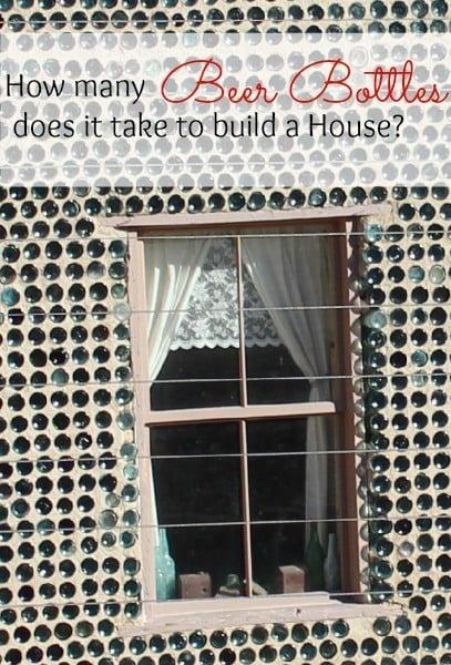 Tom Kelly's Bottle House in Rhyolite, Nevada