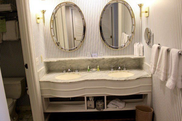dressing area at Disney's Beach Club Resort