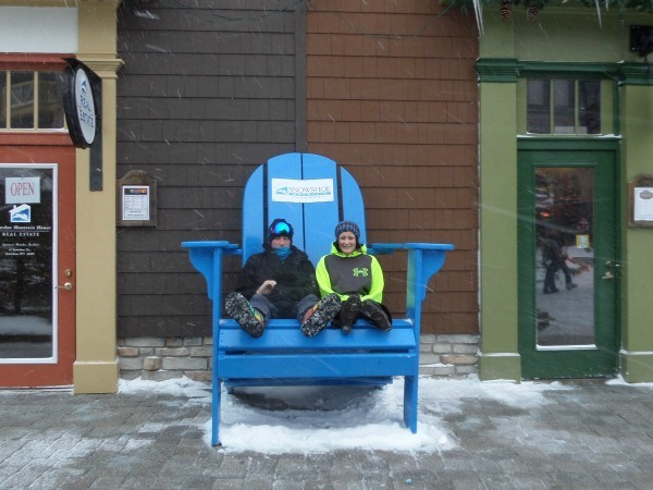 Fun photo ops at Snowshoe Mountain Ski Resort