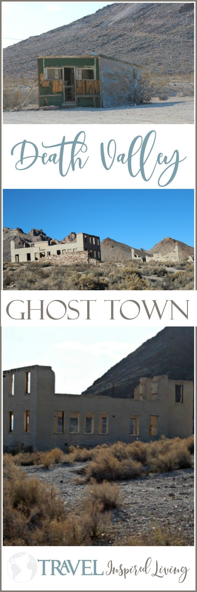 Death Valley has several ghost towns, this is one.
