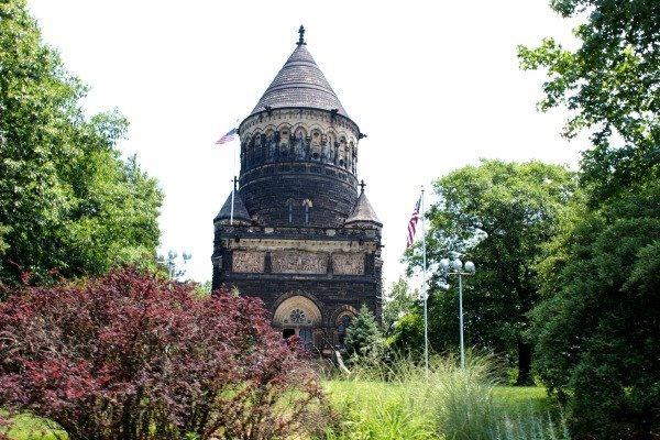 Garfield Memorial in Lake View Cemetery