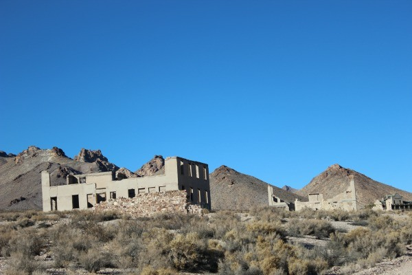 Rhyolite Ghost Town in Death Valley National Park
