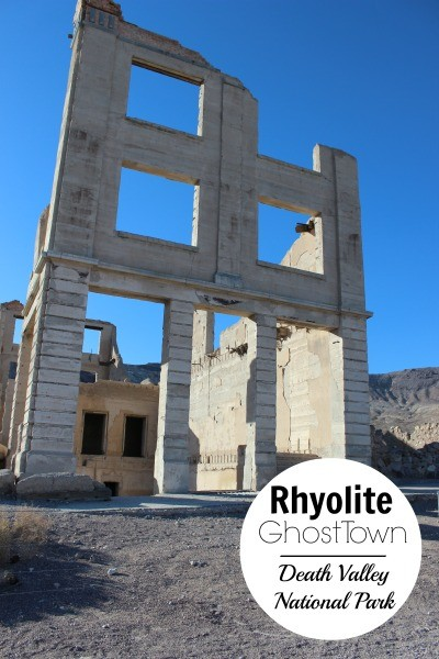 Visiting Rhyolite Ghost Town Death Valley national Park