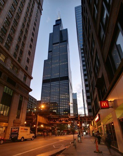 Willis_Tower_night in Chicago