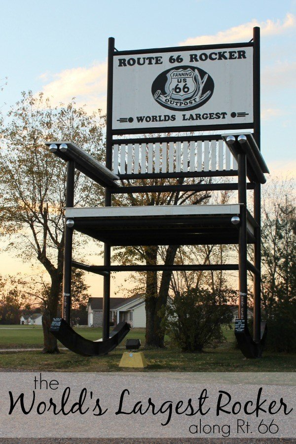 Route 66 Rocker Former World S Largest Rocking Chair
