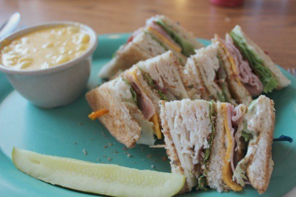 Turkey Club at Restaurant 83 in Ohio's Amish Country