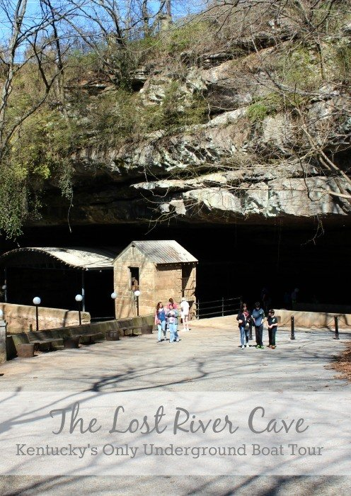 Visiting the Lost River Cave in Bowling Green, Kentucky's only underground boat tour