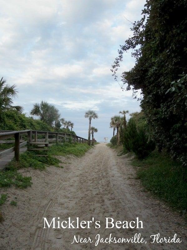 Mickler's Beach near Jacksonville, Florida