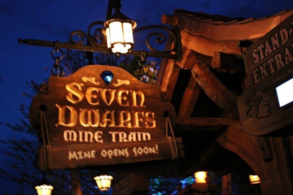 The Seven Dwarfs Mine Train in New Fantasyland scheduled to open to the public on May 28th