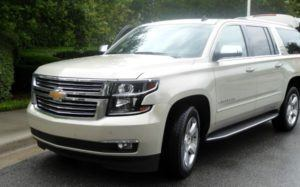 The 2015 Chevy Suburban is the perfect road trip vehicle