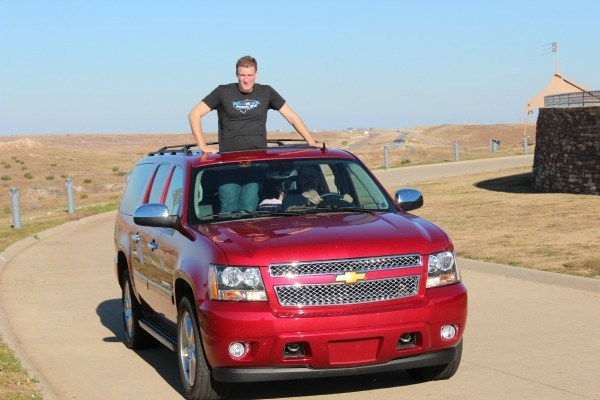 The Chevy Suburban makes an awesom road trip car