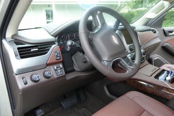 The Interior of the New 2015 Chevy Suburban