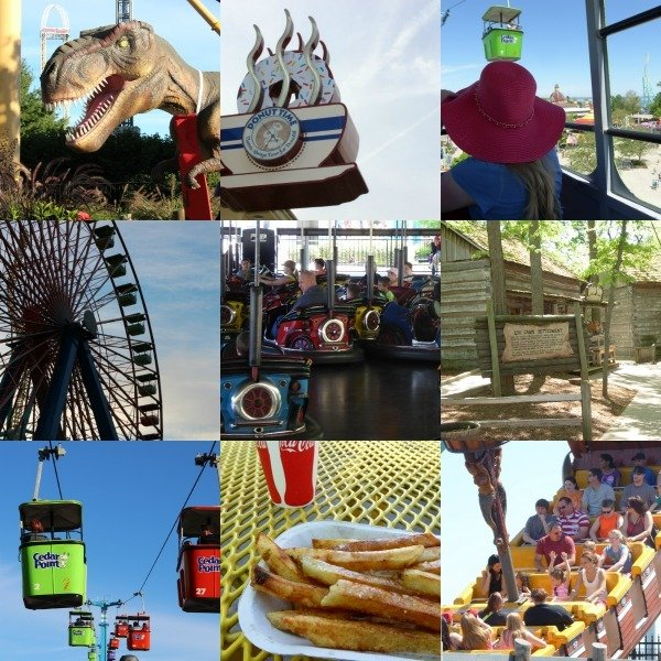 Cedar Point Collage
