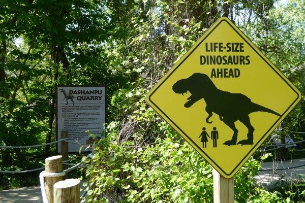 Dinsaurs Alive at Cedar Point