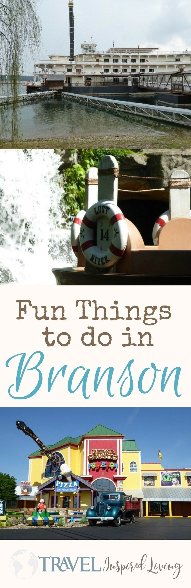 Fun things to do in Branson, Missouri for families and couples.