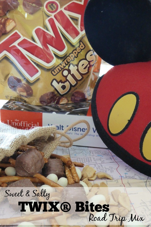 Sweet & Salty TWIX Bites Road Trip Mix