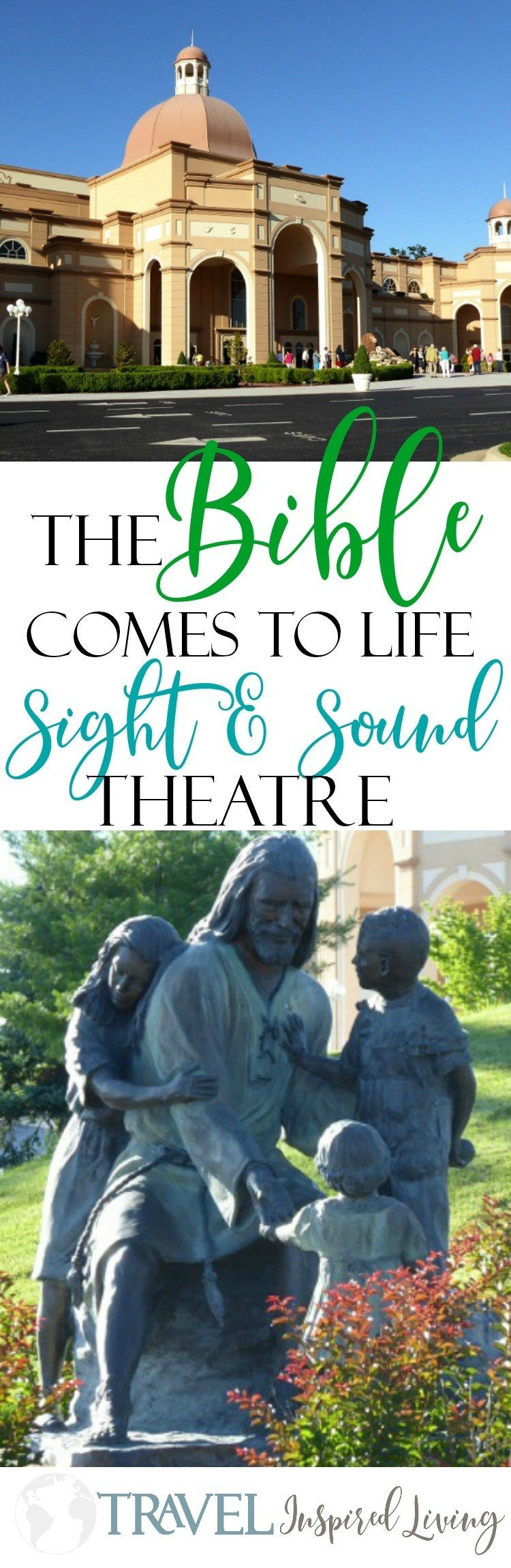 The Bible comes to life at the Sight & Sound Theatre in Branson and Lancaster