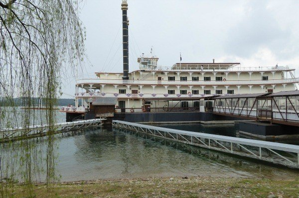 The Branson Belle Showboat in Branson, Missouri