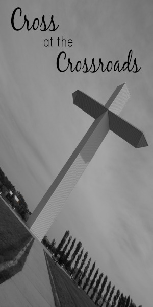 Roadside Attractions: Cross at the Crossroads in Effingham, Illinois