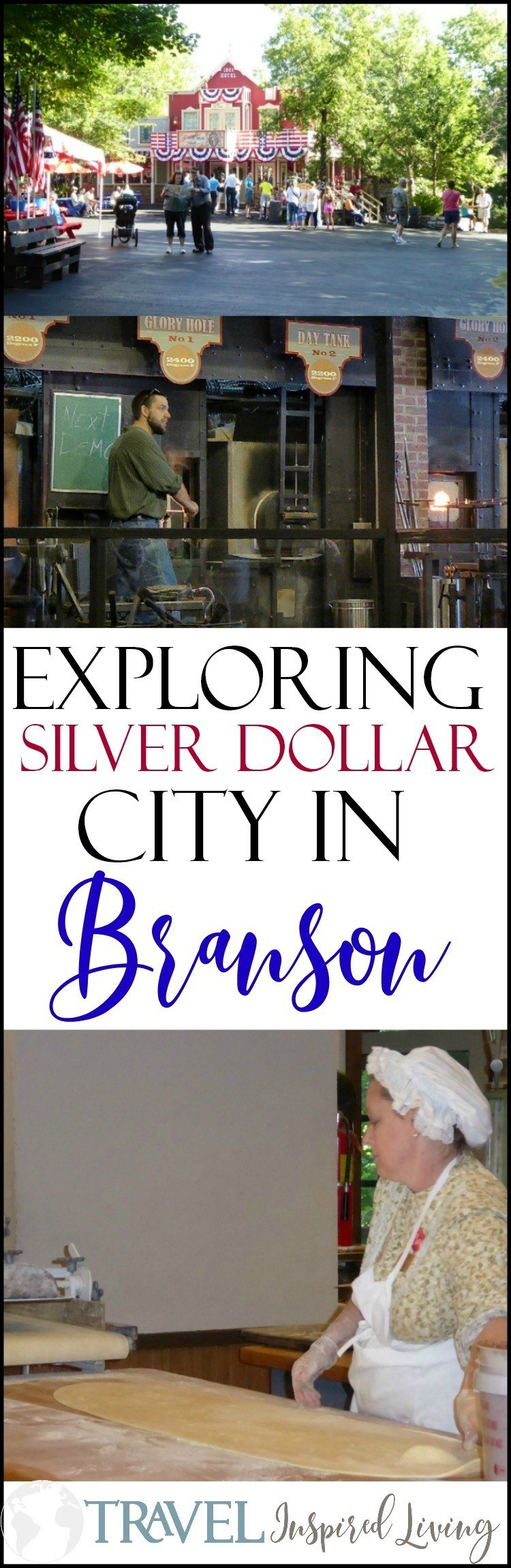 Exploring Silver Dollar City in Branson, Missouri is fun for all ages.