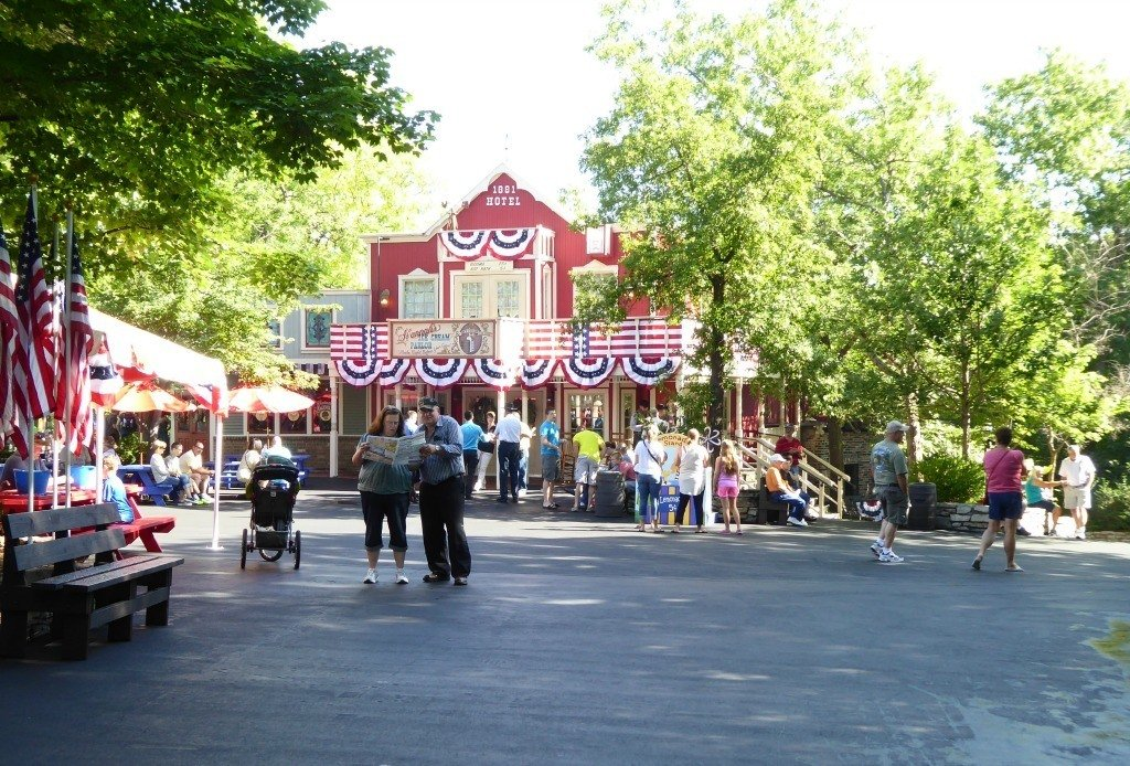 Inside Silver Dollar City