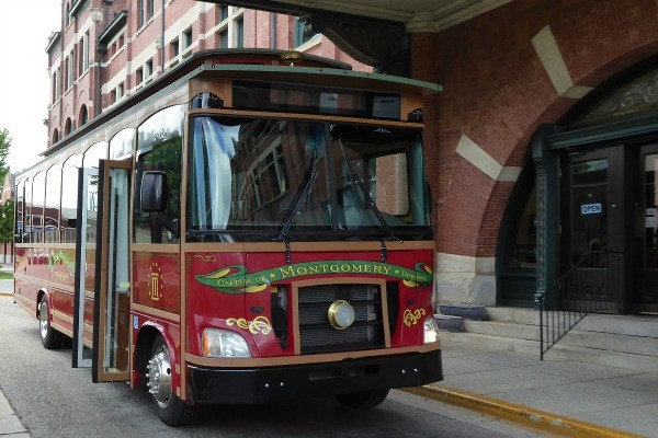Montgomery Tour Bus