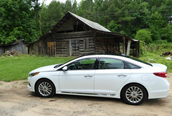 Driving the 2015 Sonata in Alabama