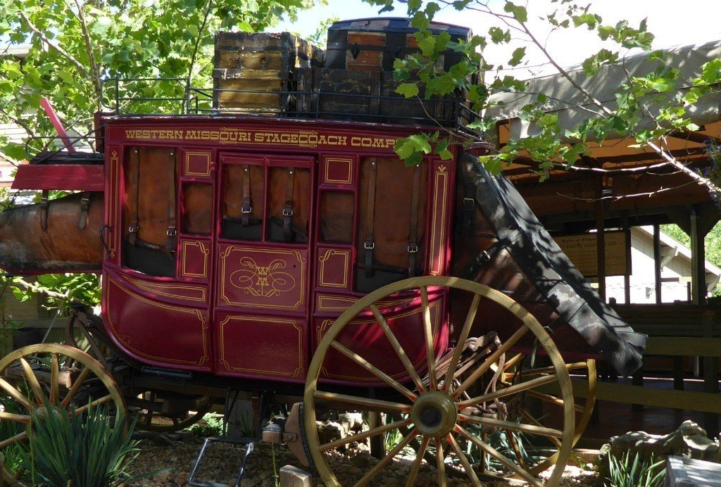 Stagecoach at Silver Dollar city