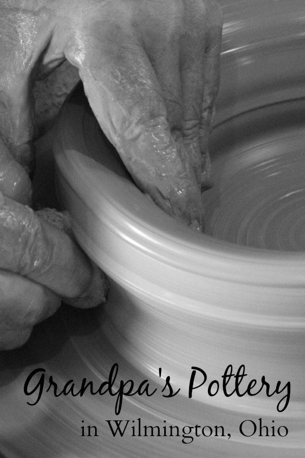 Grandpa's Pottery in Wilmington, Ohio