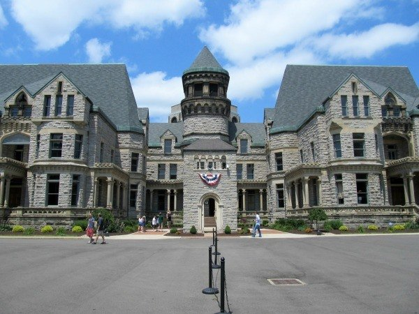 Mansfield Reformatory was the filming site of the Shawshank Trail