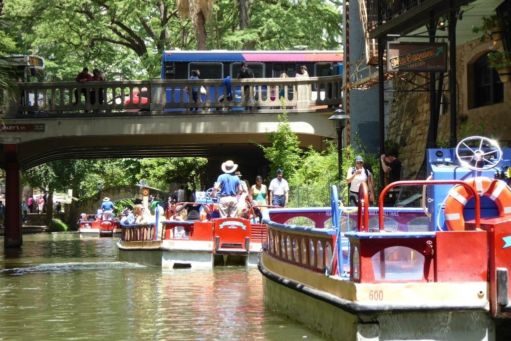 The Riverwalk in San Antonio is a great option for those visiting during Lackland AFB Graduation
