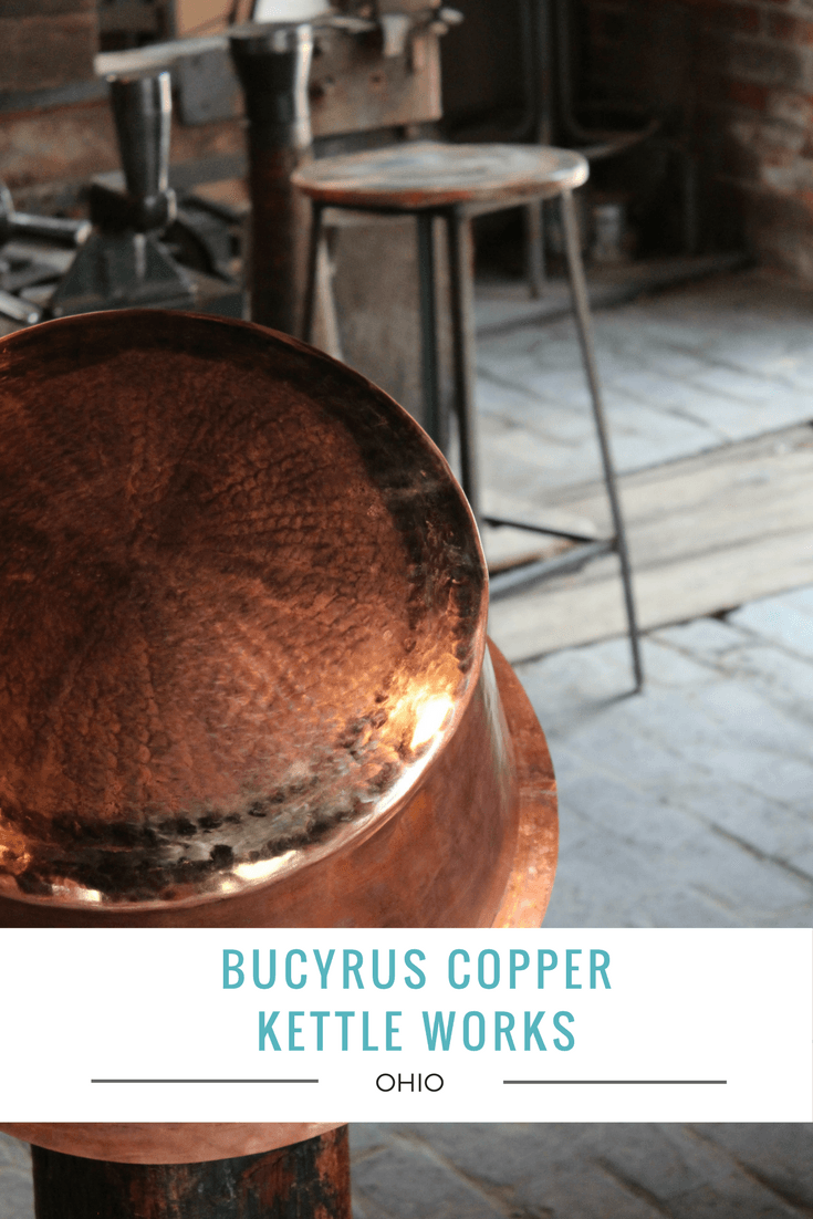 Stepping inside the office of Bucyrus Copper Kettle Works, formerly known as D. Picking & Co., one may feel as though they've stepped back in time.
