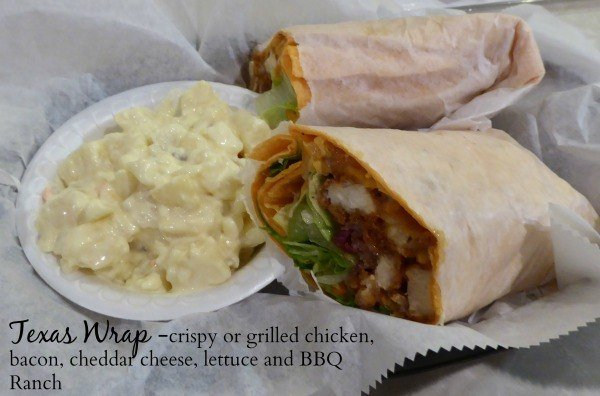 Texas Wrap at Unusual Junction near Coshocton, Ohio