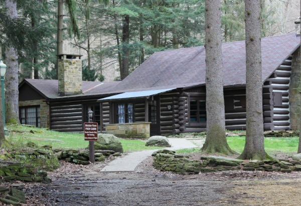 The Pugh Cabin on the Shawshank Trail