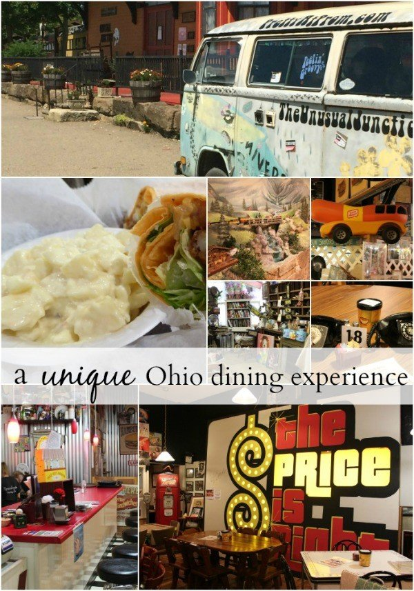 The Unusual Junction- a unique Ohio dining experience
