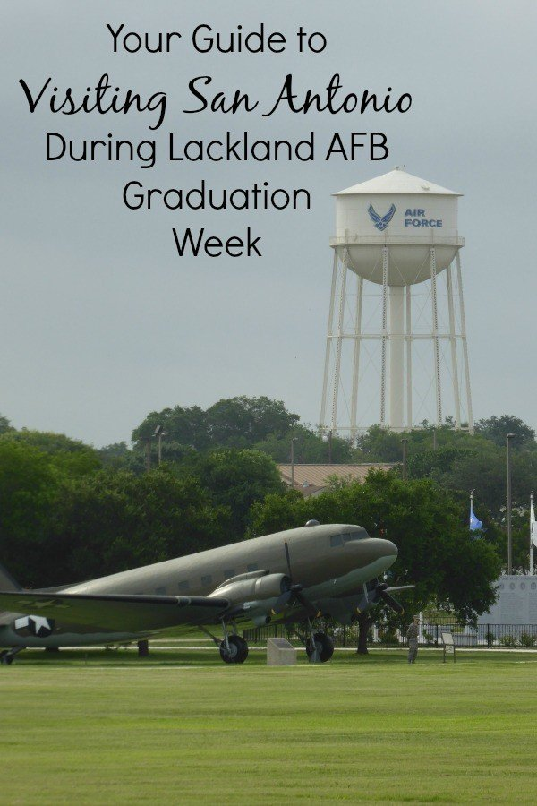 Visit San Antonio for Lackland AFB Graduation with our tips and guide to making that trip easier for you family. Don't miss our top tips to make it easy!