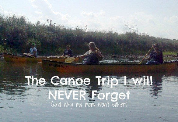 A canoe trip at Mohican Adventures