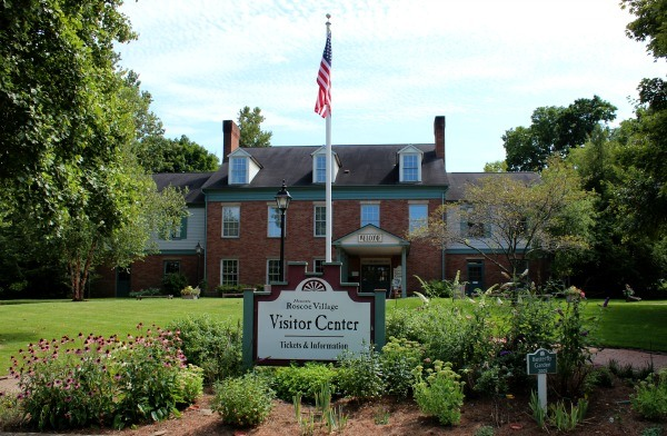 Begin your tour of the 1830's Canal Era Town at the Roscoe Village Visitor Center