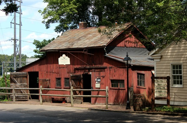 Blacksmith Shop at Roscoe Village in Coshocton, Ohio