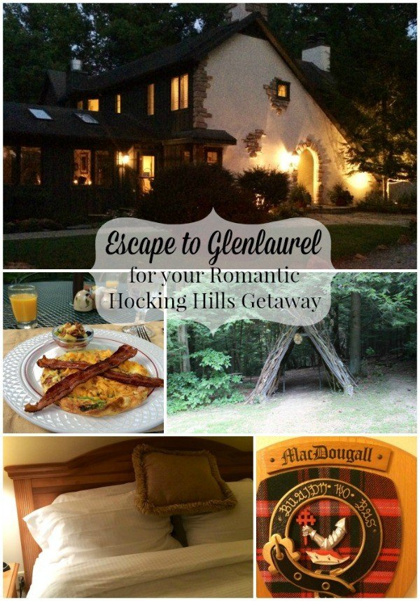 Escape to Glenlaurel for your Romantic Hocking Hills Getaway