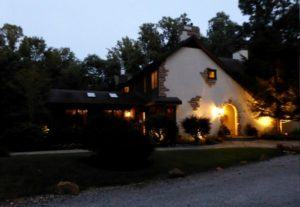 Glenlaurel Manor House in Hocking Hills offers a romantic and luxurious escape for couples in Ohio
