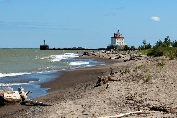 Headland Beach State Park in Lake County is Ohio's longest beach