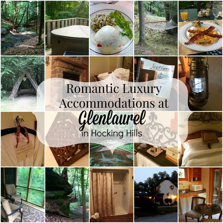 Romantic Luxury Accommodations at Glenlaurel in Hocking Hills