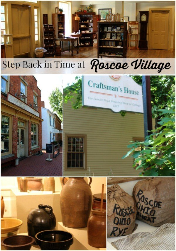 Step back in time at Roscoe Village in Coshocton Ohio