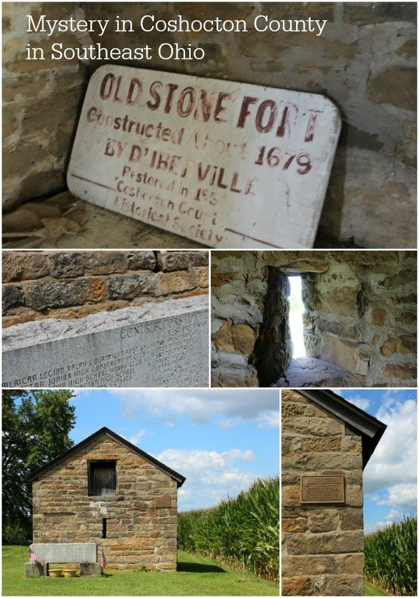 The Old Stone Fort in Coshocton County Ohio is shrouded in mystery