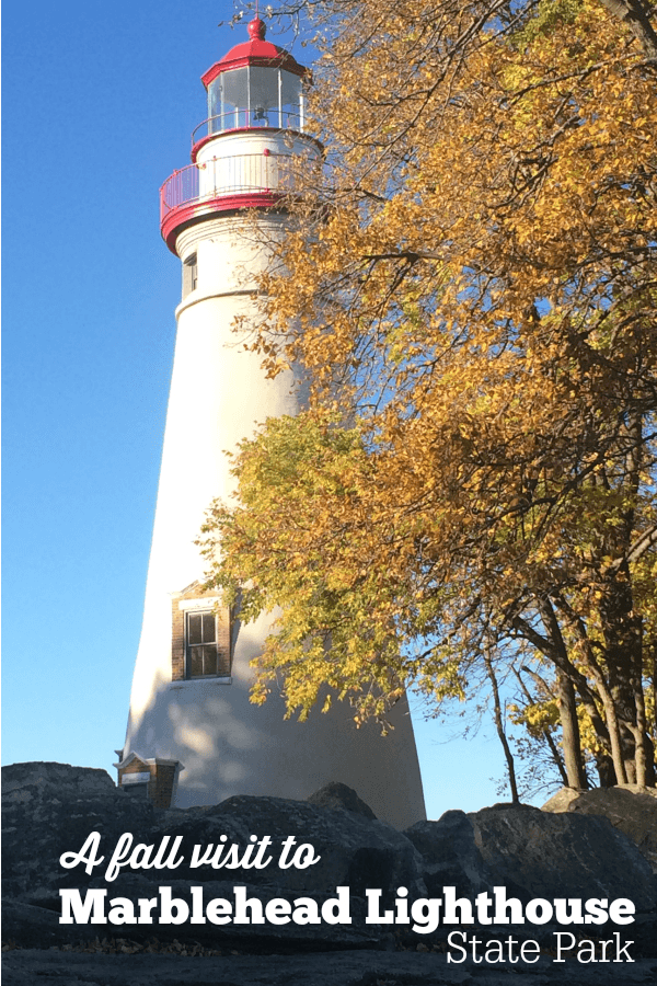 A Fall Visit to Marblehead Lighthouse State Park along Lake Erie