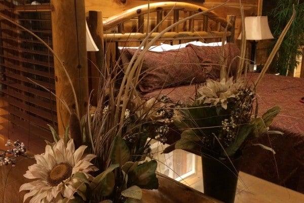 Bella Yani Master Bedroom Loft- Cabin Fever Vacations