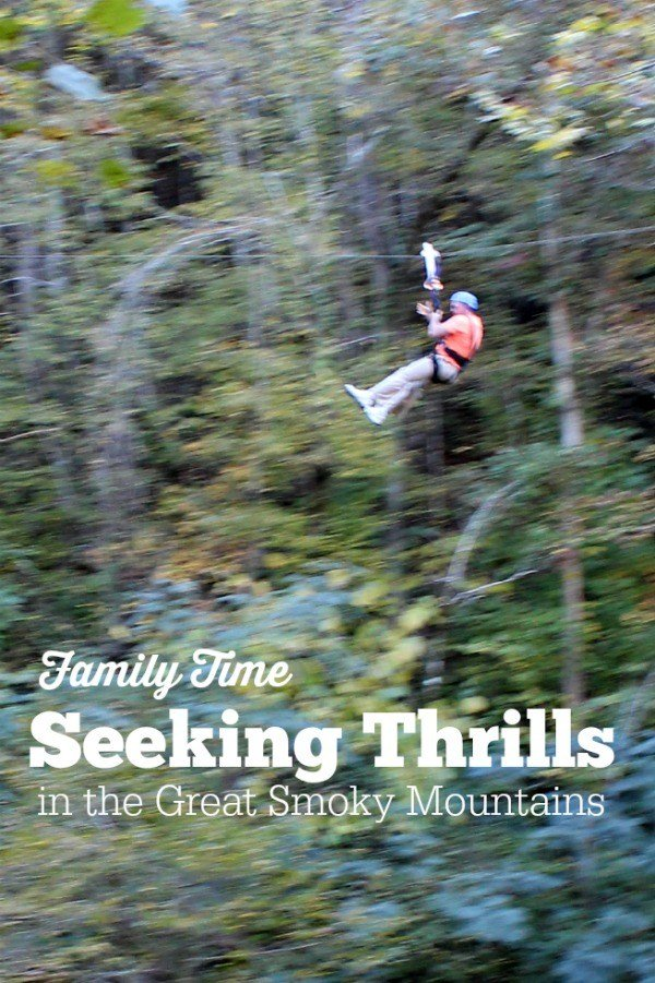Family Time Seeking Thrills in the Great Smoky Mountains #MBSmokies
